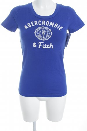Abercrombie & Fitch T-Shirt blau Casual-Look