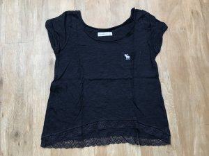 Abercrombie & Fitch T-Shirt Dunkel Blau