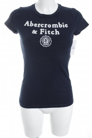 Abercrombie & Fitch T-Shirt dunkelblau Casual-Look