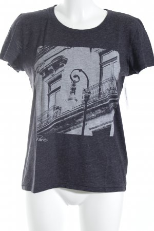 Abercrombie & Fitch T-Shirt dunkelgrau Casual-Look