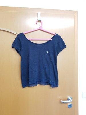 Abercrombie & Fitch T-Shirt Gr. M dunkelblau