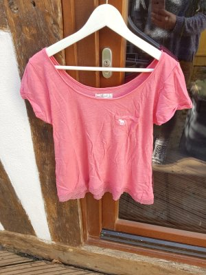 Abercrombie & Fitch T-Shirt Gr. S pink