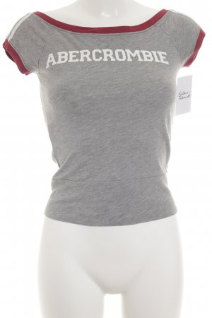 Abercrombie & Fitch T-Shirt grafisches Muster Casual-Look