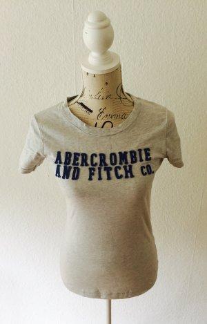 Abercrombie & Fitch// T-Shirt // Grau //Bestickt //M