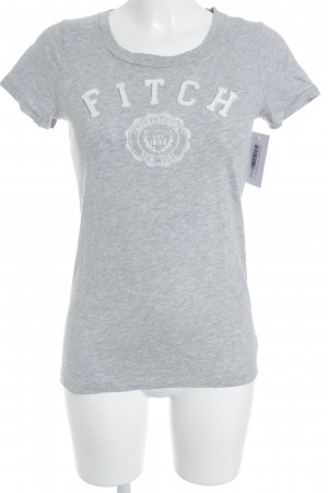 Abercrombie & Fitch T-Shirt hellgrau Casual-Look