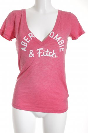 Abercrombie & Fitch T-Shirt magenta Casual-Look