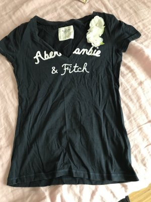 Abercrombie & Fitch T-Shirt mit 3D-Blumen M 38
