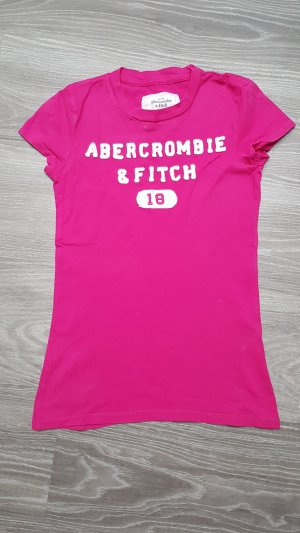 Abercrombie & Fitch T-Shirt Pink Gr XS S