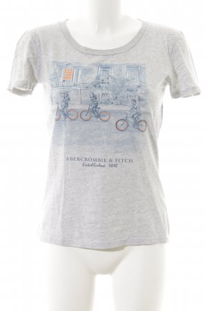 Abercrombie & Fitch T-Shirt platzierter Druck Casual-Look