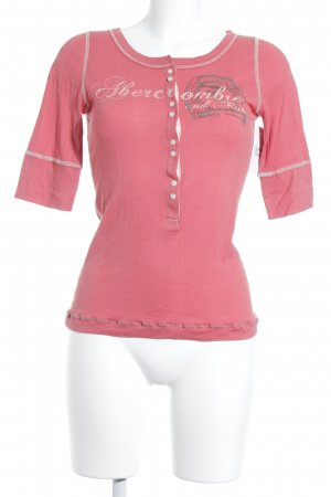 Abercrombie & Fitch T-shirt gedrukte letters casual uitstraling