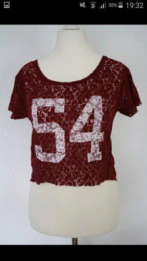 Abercrombie & Fitch T-Shirt Spitzenshirt