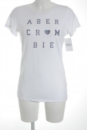 Abercrombie & Fitch T-Shirt weiß Casual-Look