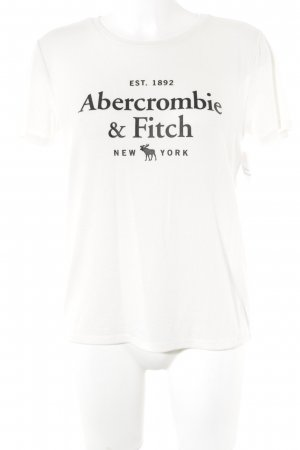 Abercrombie & Fitch T-Shirt wollweiß Casual-Look