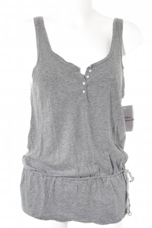 Abercrombie & Fitch Camiseta sin mangas gris look casual