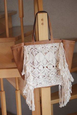 Abercrombie & Fitch Tasche Strandtasche Totebag Shopper Blogger crochet