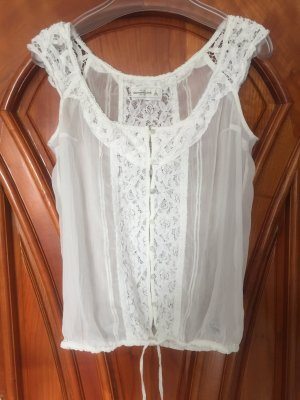 Abercrombie & Fitch Top mit Spitze
