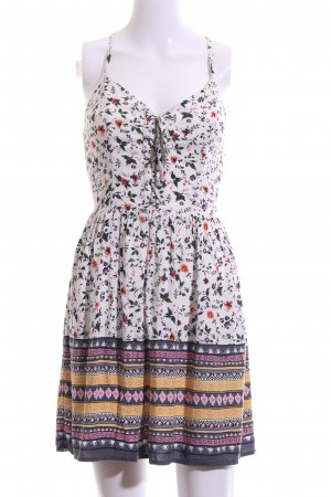 Abercrombie & Fitch Pinafore dress flower pattern casual look