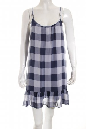 Abercrombie & Fitch Trägerkleid dunkelblau-weiß Casual-Look