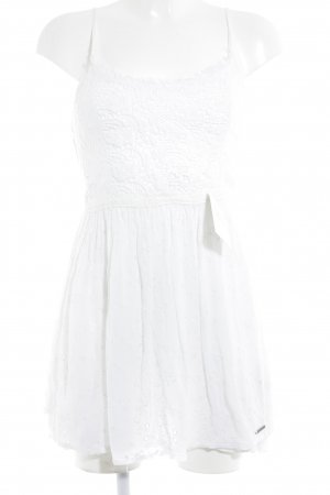 Abercrombie & Fitch Pinafore dress white beach look