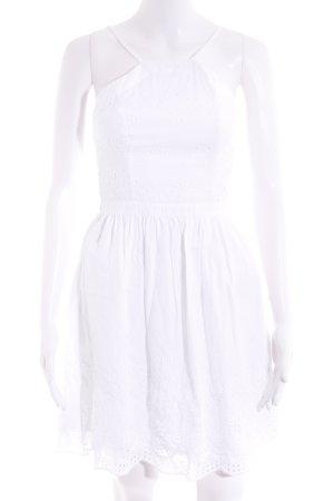 Abercrombie & Fitch Trägerkleid weiß Casual-Look