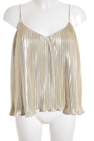 Abercrombie & Fitch Trägertop goldfarben Elegant