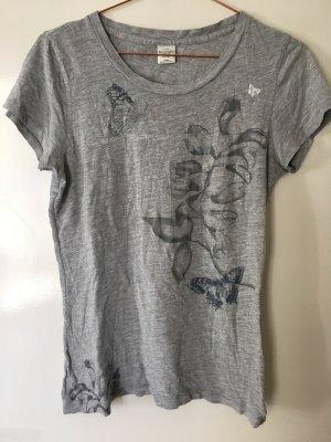 Abercrombie & Fitch T-shirt grigio chiaro-grigio