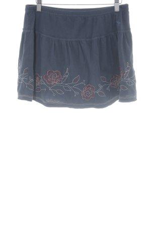 Abercrombie & Fitch Jupe tulipe bleu foncé style décontracté