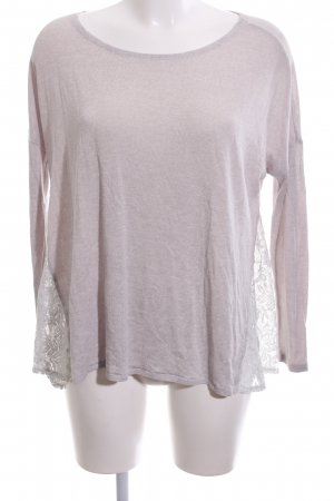 Abercrombie & Fitch Boothalsshirt roze casual uitstraling