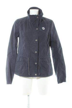 Abercrombie & Fitch Übergangsjacke dunkelblau Casual-Look