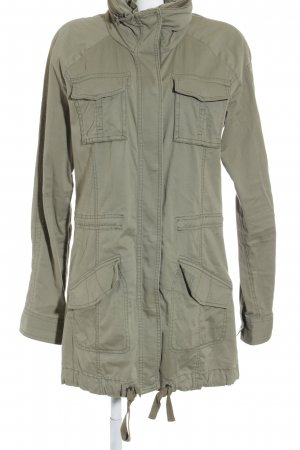 Abercrombie & Fitch Übergangsjacke olivgrün-grüngrau Military-Look