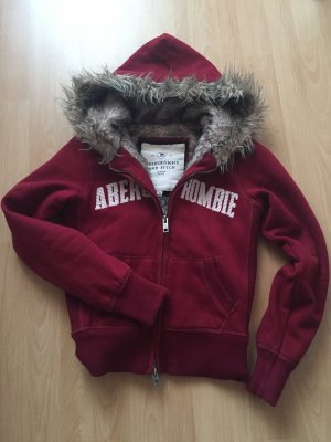 Abercrombie & fitch Weste Fell Bordeaux S