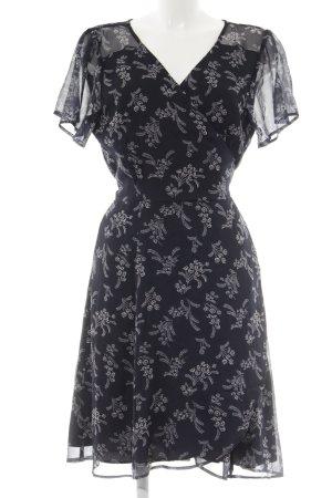 Abercrombie & Fitch Robe portefeuille motif de fleur style décontracté