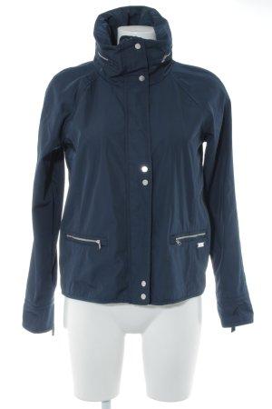 Abercrombie & Fitch Windbreaker dark blue casual look