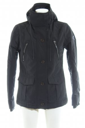 Abercrombie & Fitch Winterjacke blau Casual-Look