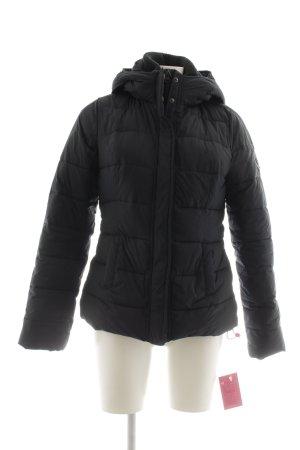 Abercrombie & Fitch Winterjacke schwarz Casual-Look