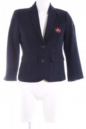 Abercrombie & Fitch Woll-Blazer dunkelblau Casual-Look