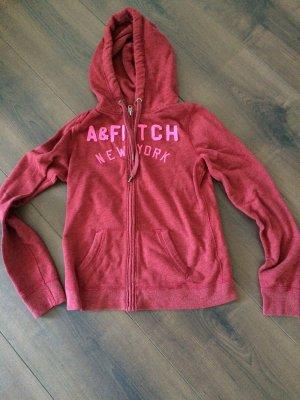 Abercrombie & Fitch Zipper in rot