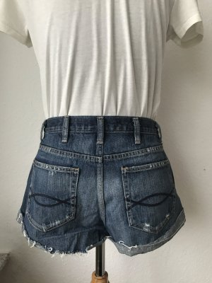 Abercrombie High rise distressed short Gr. 25 XS