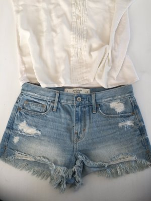 Abercrombie high rise waist Jeans Shorts 25