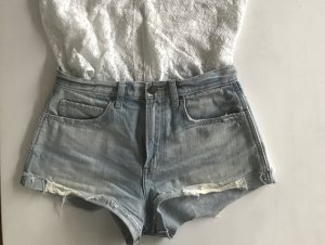 Abercrombie High rise waist Jeans Shorts US2 26