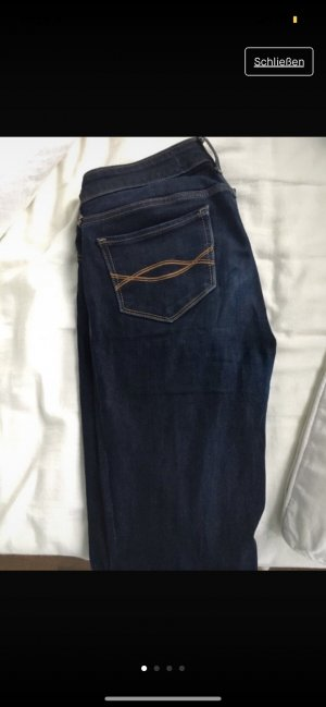Abercrombie & Fitch Jeggings blu scuro