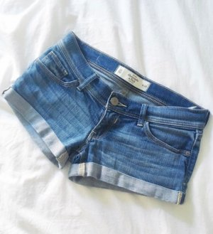Abercrombie Jeans Shorts knapp Ultra Low Rise 34 XS