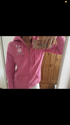 Abercrombie & Fitch Giacca fitness rosa-rosa