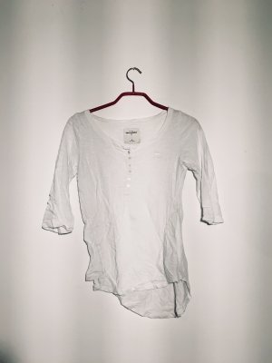Abercrombie & Fitch Bodysuit Blouse white