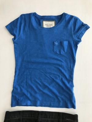 Abercrombie Klassiker Basic Tshirt slim fit Top XS 34