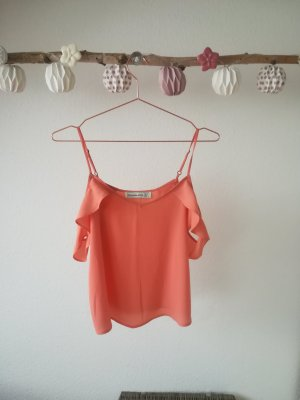 Abercrombie & Fitch T-shirt arancione