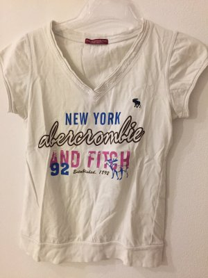Abercrombie & Fitch Print Shirt white