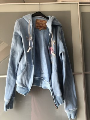 Abercrombie & Fitch Hooded Sweater cornflower blue