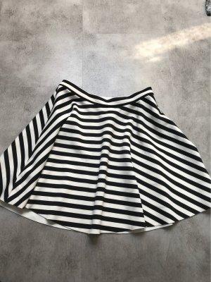 Abercrombie & Fitch Falda a cuadros blanco-negro