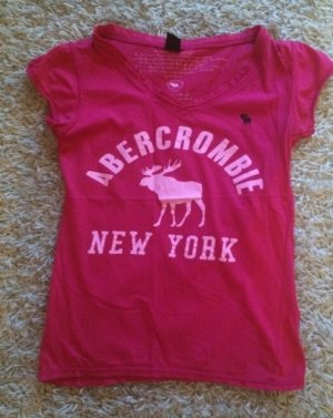 Abercrombie Shirt, Gr. S, Pink.
